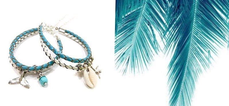 Leather Coastal bracelets